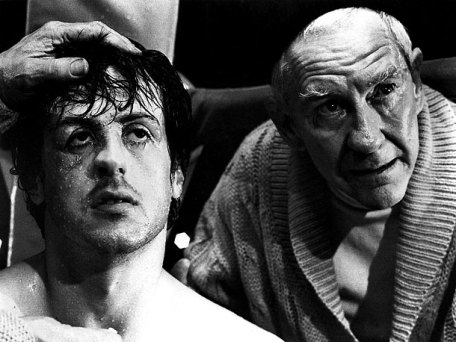 ROCKY, Sylvester Stallone, Burgess Meredith, 1976