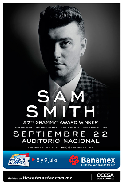 Sam Smith Auditorio Nacional