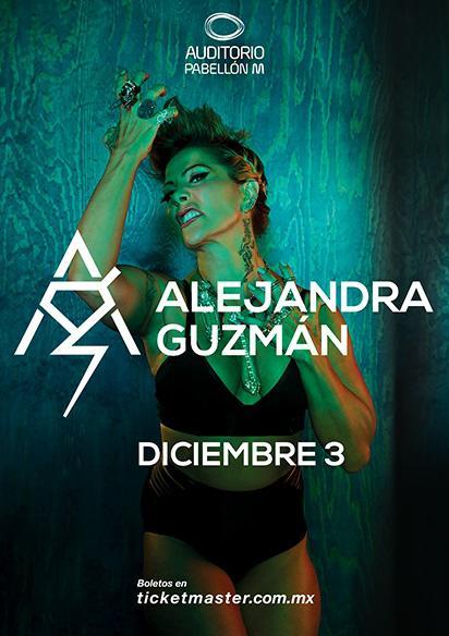 Alejandra Guzman Auditorio Pabellon Monterrey