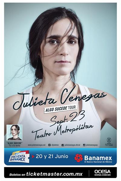 Julieta Venegas Teatro Metropolitan