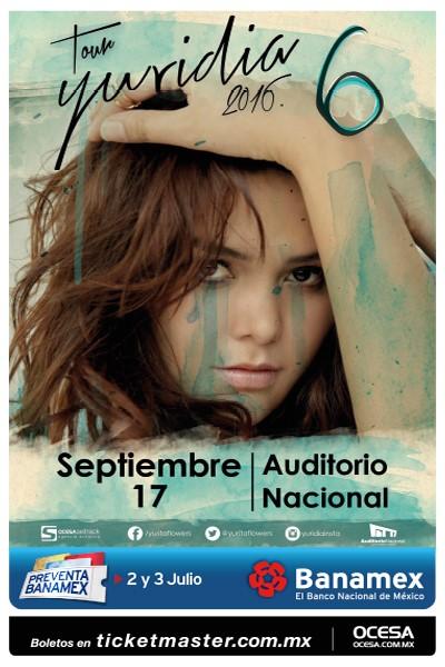 Yuridia Auditorio Nacional 2016