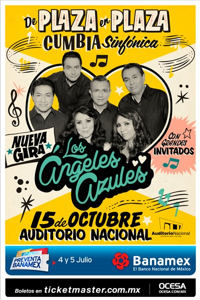 Angeles Azules Auditorio Nacional 2016
