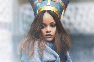 Rihanna Vogue Arabia cover