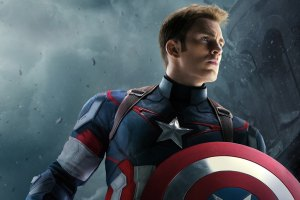 Chris Evans Capitan America.