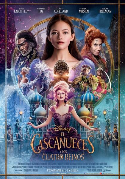 El Cascanueces y los Cuatro Reinos poster