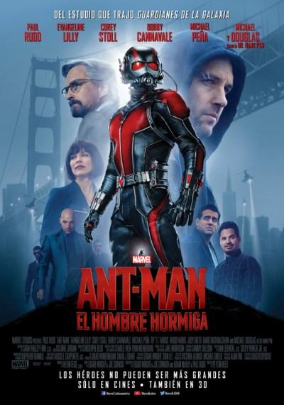 poster Ant Man: El hombre Hormiga