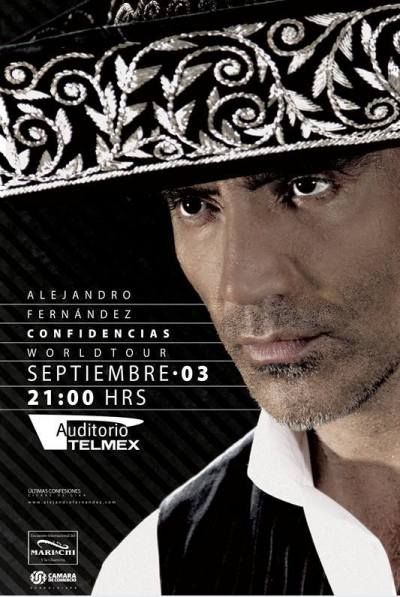 Alejandro Fernandez Auditorio Telmex