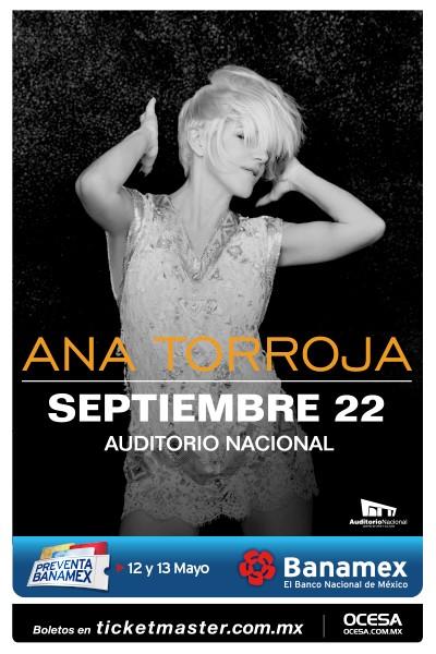 Ana Torroja Auditorio Nacional 2016