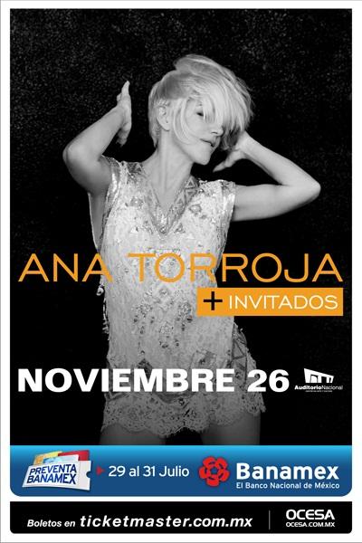 concierto Ana Torroja Auditorio Nacional