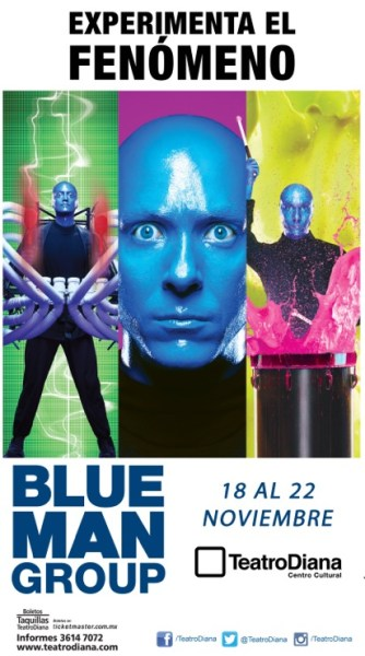Blue Man Group Teatro Diana