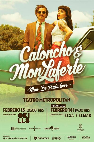 Caloncho y Mon Laferte Teatro Metropolitan