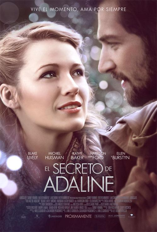 El secreto de Adaline poster