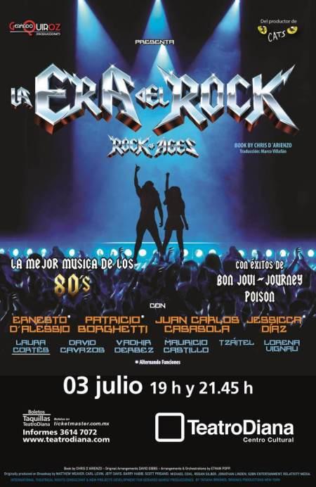 La Era del Rock Teatro Diana Guadalajara