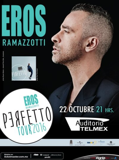 Eros Ramazzotti Auditorio Telmex