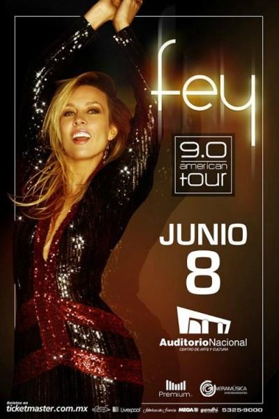 Fey 9.0 Tour Auditorio Nacional