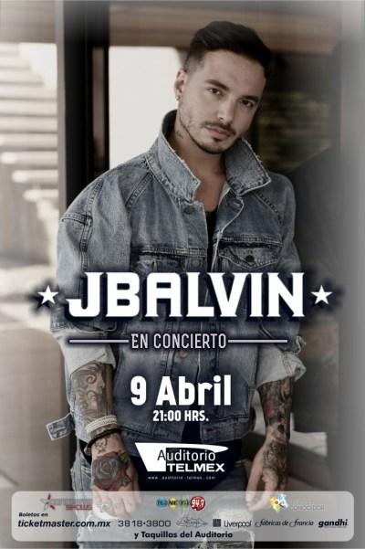 J Balvin Auditorio Telmex Guadalajara