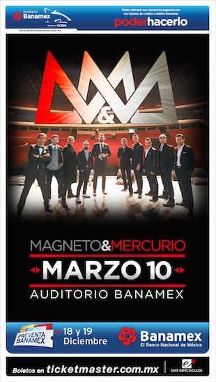 Mercurio y Magneto Monterrey