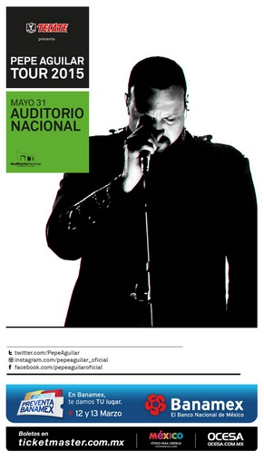 Pepe Aguilar Auditorio Nacional 2015