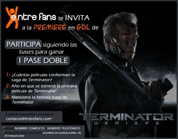 premiere GDL Terminator Genesis