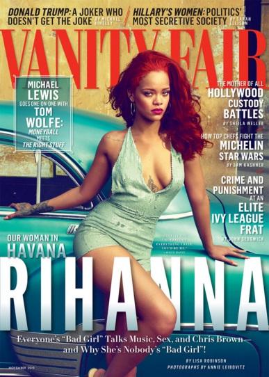 Rihanna Vanity Fair November 2015
