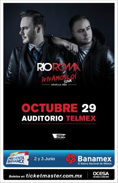 Rio Roma Auditorio Telmex