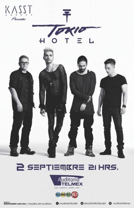Tokio Hotel Auditorio Telmex