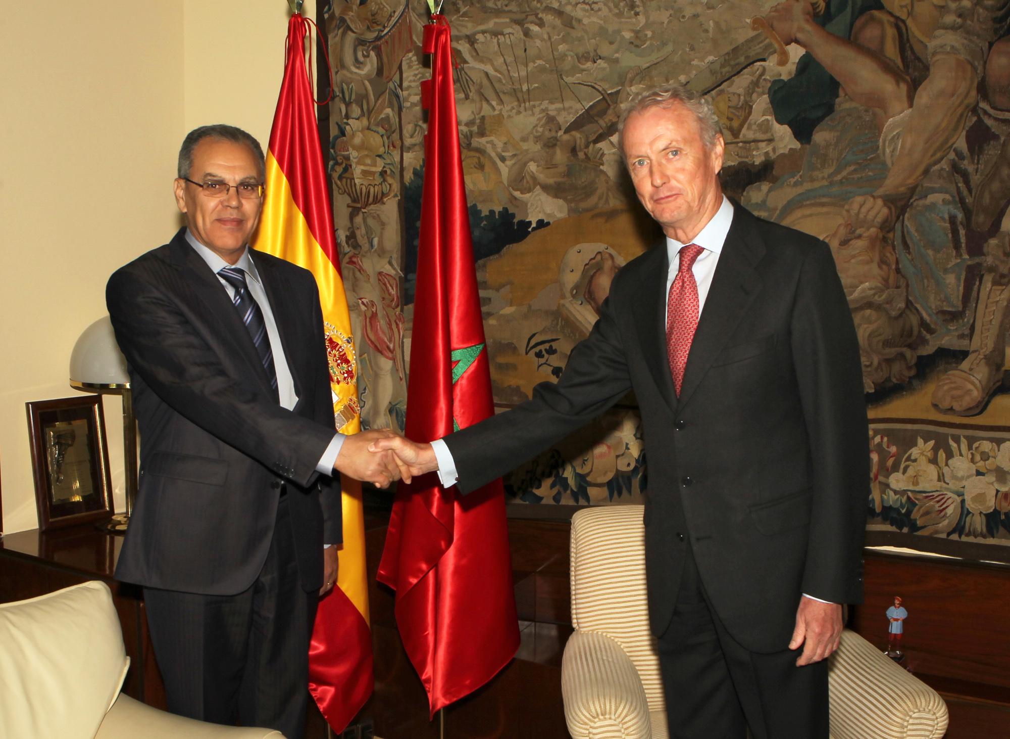 Morenés y su homólogo marroquí se reúnen en Madrid. / Defensa