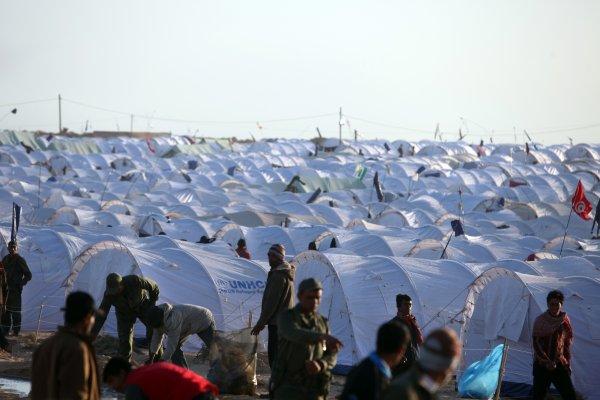 El campamento de Shousha el 6 de marzo de 2011. / UN Photo/OCHA/David Ohana