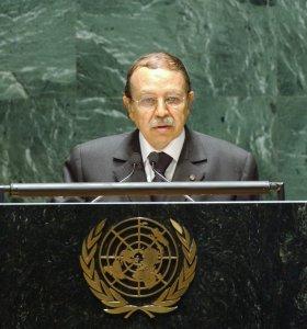 El Presidente argelino, Abdelaziz Bouteflika. /UN Photo/Michelle Poiré