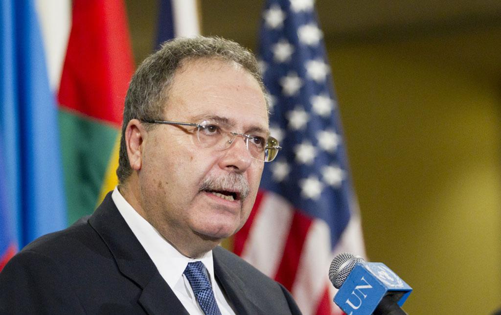 Representante Especial Tarek Mitri. UN Photo / Rick Bajornas