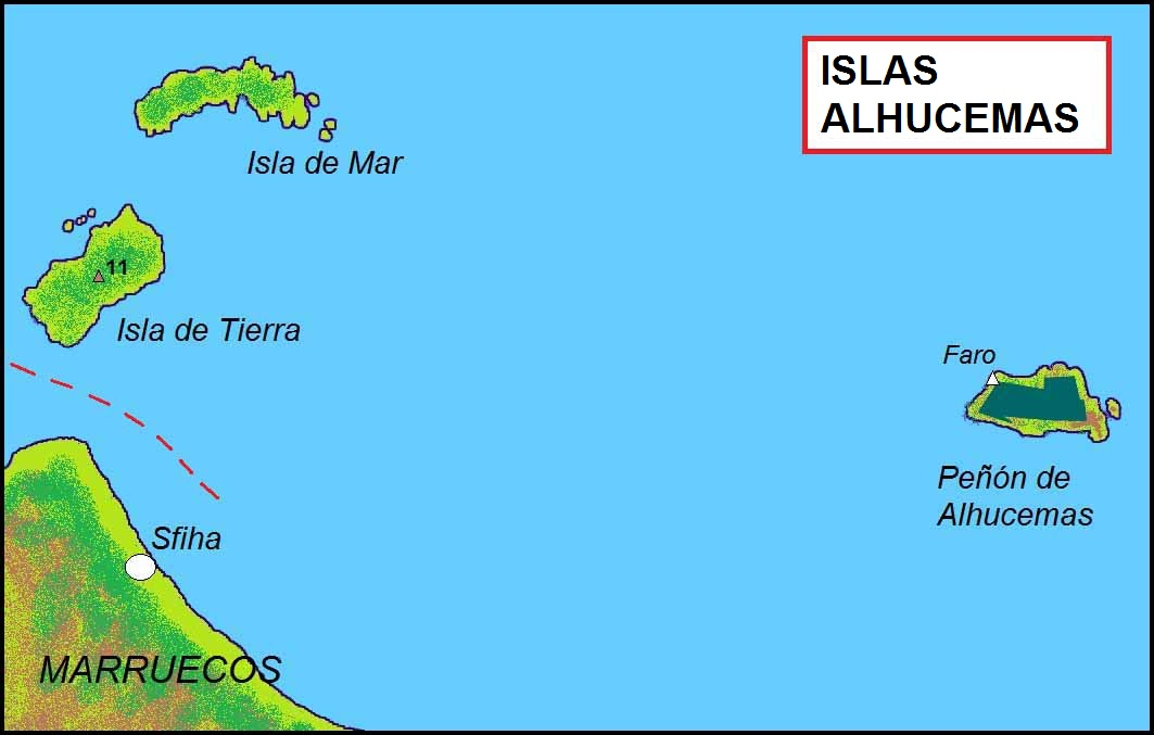 infografía de Isla de Tierra. / Wikipedia