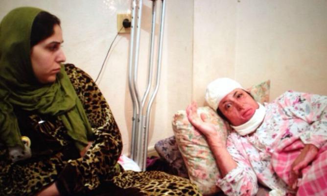 Foto difundida a los medios de comunicación de la refugiada antes de salir de Melilla. / F.B