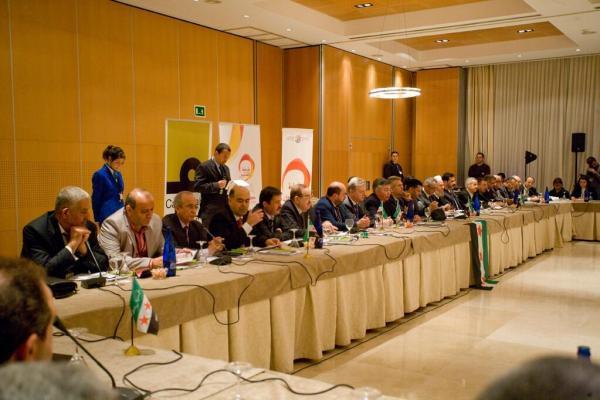 La oposición siria reunida en el Parador de Córdoba. / Casa Arabe