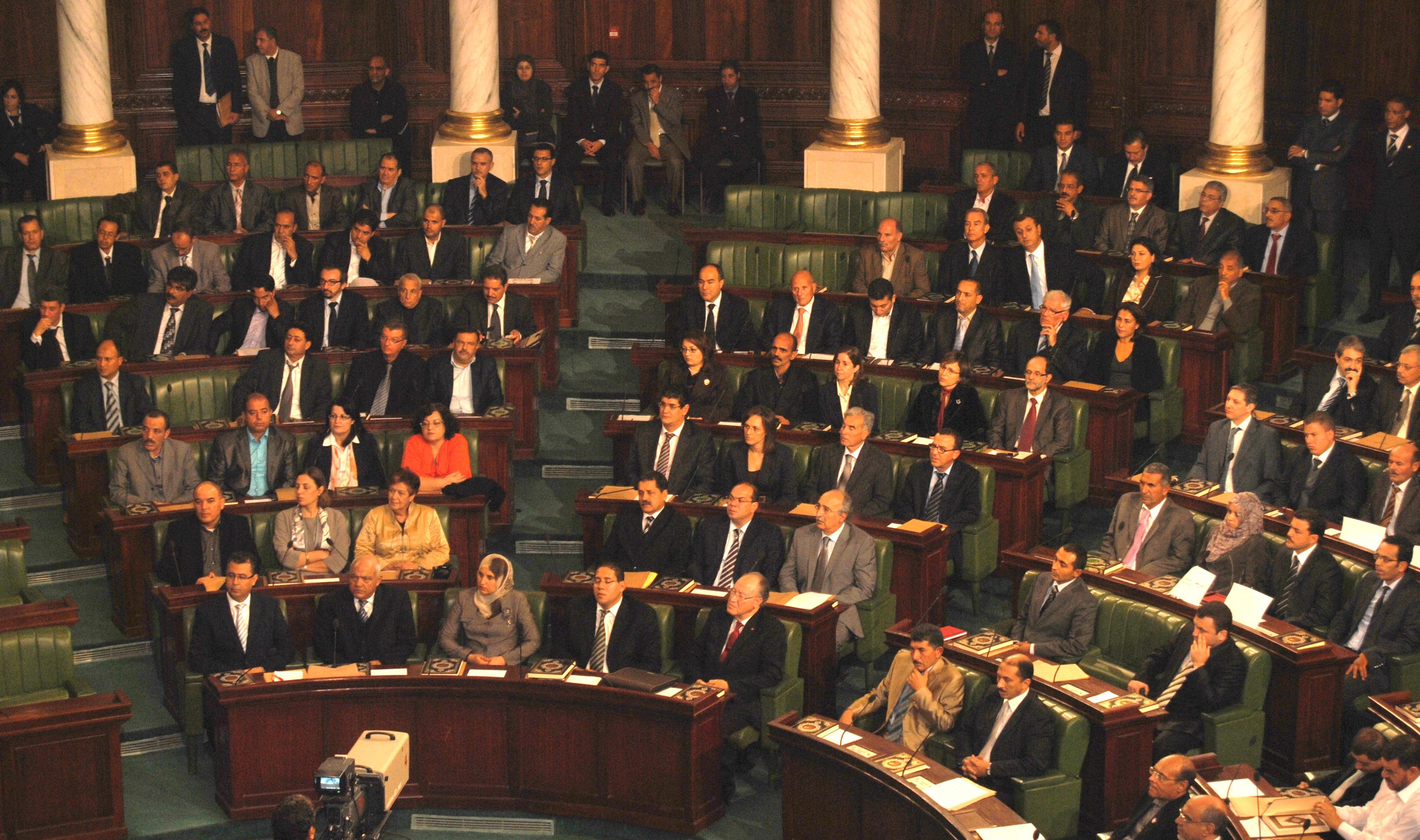 Sesión inaugural de la Asamblea Constituyente, 22 de noviembre de 2011. /Samir Abdelmoumen