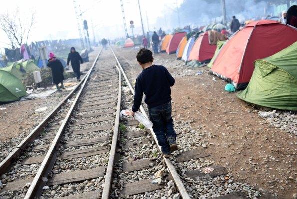 Más de la mitad de los 7.000 niños que han llegado a Europa tras cruzar el Mediterráneo en lo que va de año viajaban solos. Foto: UNICEF/UN012804/Georgiev