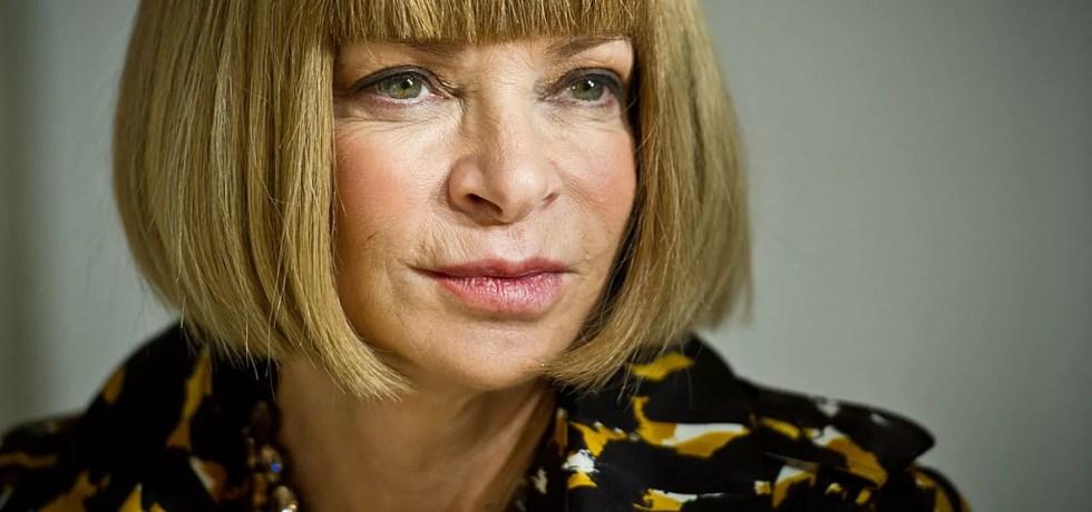 Anna Wintour, editora de Vogue.