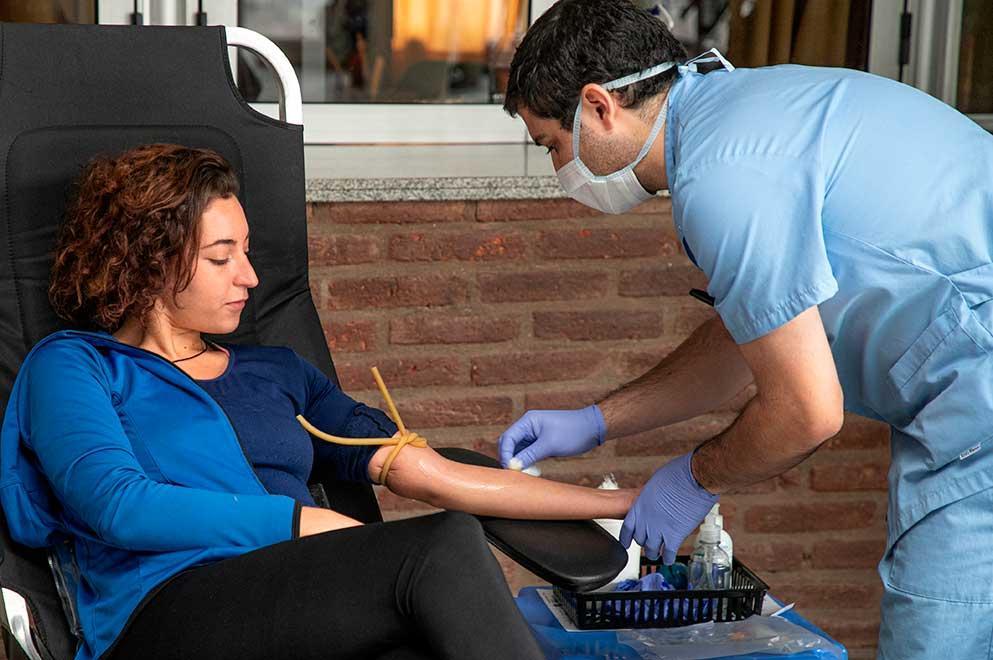 sangre donación