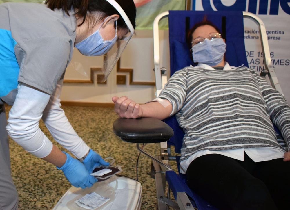 Esta semana se llevarán a cabo dos colectas externas para la donación de sangre. Están organizadas por el Programa Provincial de Hemoterapia.