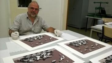 Paulo Cheida participa de mostra na Galeria Fórum em Lima
