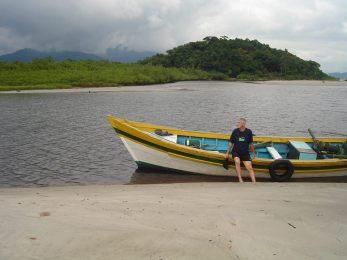 A canoa de Antonio