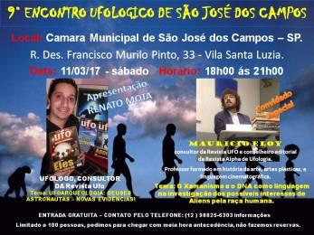 9° Econtro Ufológico de São José dos Campos