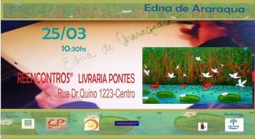 """Exposição: """"Reencontros""""-Edna de Araraquara"""