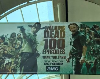 100 episódios de TWD
