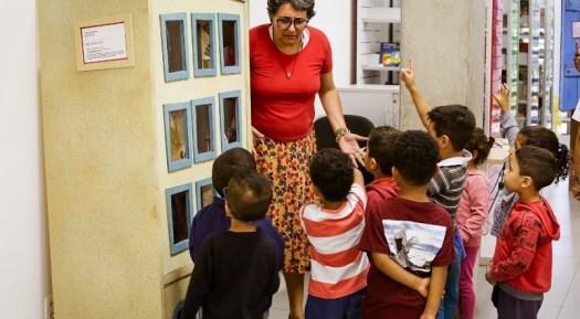 Grupo Esparrama inaugura exposição do Projeto Navegar com ações lúdicas