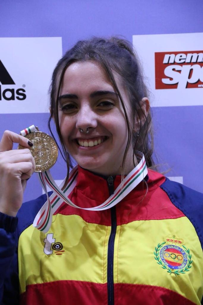 Gloria Fernández - Entrenamiento Tiro Olímpico