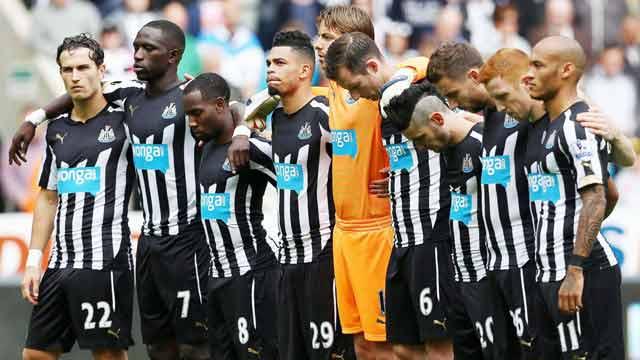 Ejercicios de futbol Newcastle