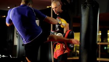 entrenador personal muay thai