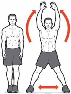 ejercicios para ponerse en forma jumping