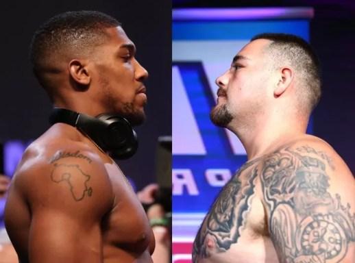 combate boxeo anthony joshua contra andy ruiz, pelea, noticias de boxeo