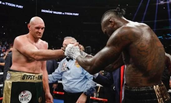 fury wilder proximo combate pesos pesados, noticias de boxeo, boxeadores profesionales, entrenar boxeo
